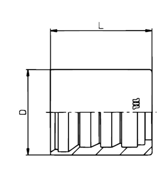 Bild för kategori Skalhylsa EN853 1SN, EN857 1SC/2SC m.fl.